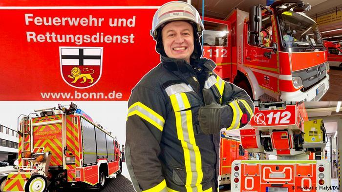 Як працюють німецькі пожежники-добровольці
