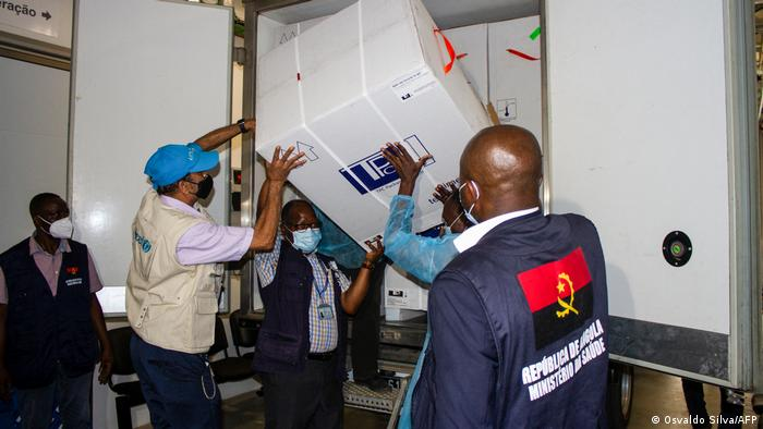 Angola Corona-Pandemie | Beginn Impfung