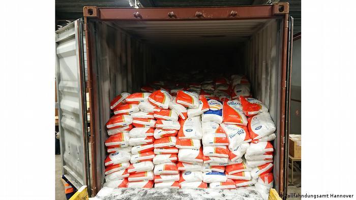 Само през 2020 г. в Антверпен са заловени над 65 тона кокаин