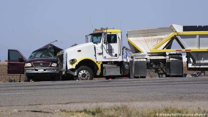 USA I Kalifornien I Autounfall in Holtville