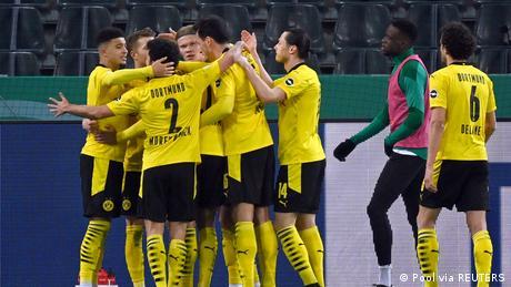 DFB Cup - Quarter Final - Borussia Moenchengladbach v Borussia Dortmund