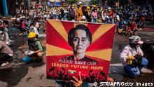 Myanmar I Free our Leader Proteste