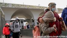 Mexiko Migranten aus Zentralameika