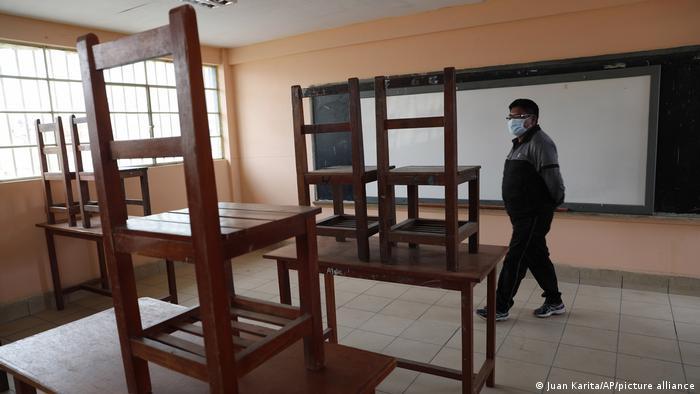 Classroom in Bolivia
