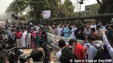 Bangladesch Protest in Dhaka