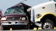 USA Holtville | Crash eines SUV mit einem Truck