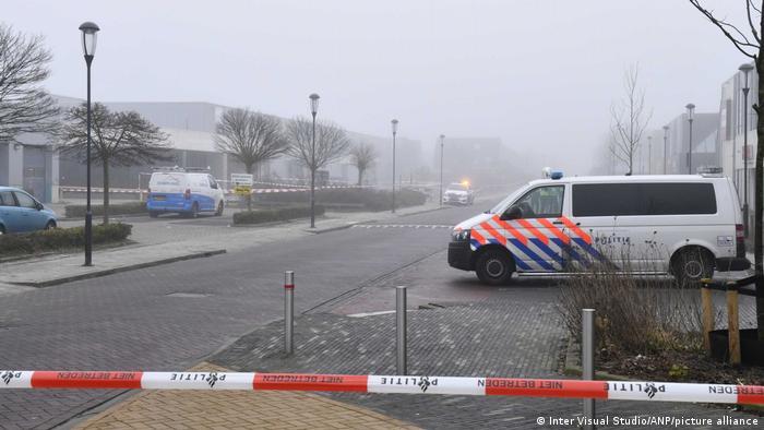 Около места взрыва в Бовенкарспеле