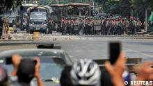 Myanmar | Demonstration gegen Militärputsch