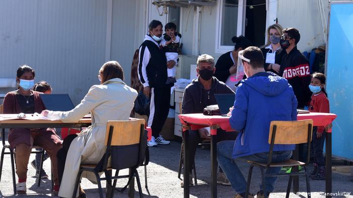 Nord-Mazedonien Skopje   Volkszählung in Nord-Mazedonien - Obdachlose