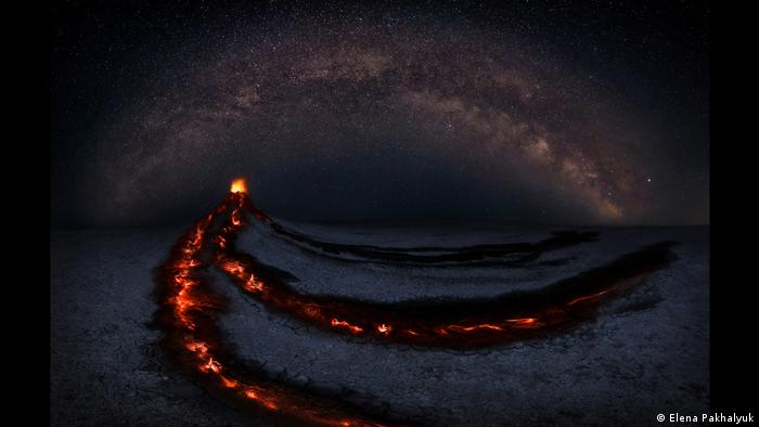 Astronomy Photographer of the Year Award 2020 | Eruption | Elena Pakhalyuk