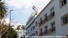 Deutschland Marokko Krise der diplomatischen Beziehungen, die Dt. Botschaft in Rabat
