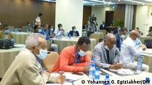Äthiopien Addis Abeba NEBE-Treffen mit Oppositionsparteien