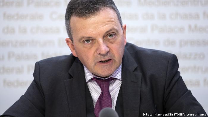 Schweiz Referendum Verhüllungsverbot | Walter Wobmann