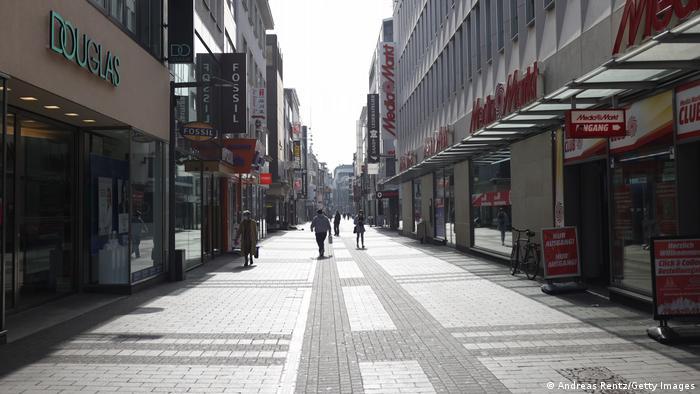 Uz postepeno popuštanje mera, ulice u centrima nemačkih gradova trebalo bi ponovo da se polako napune
