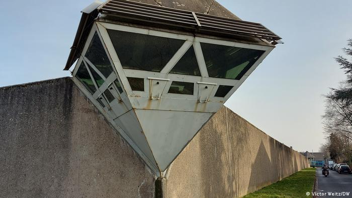 Фрагмент здания тюрьмы в кельнском районе Оссендорф