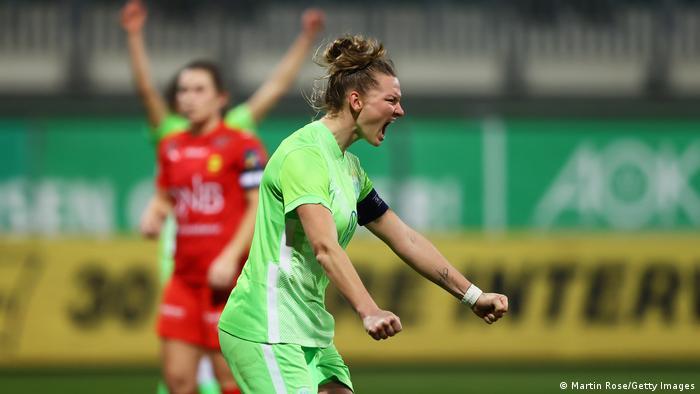 Fussball I UEFA Womens Champions League I VfL Wolfsburg - LSK Kvinner