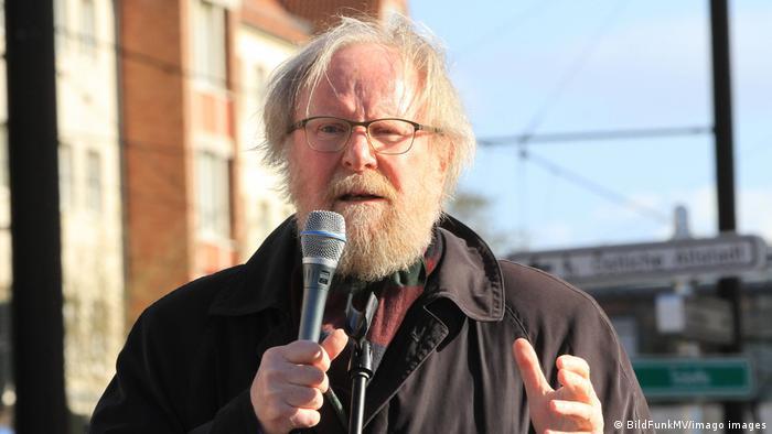 Известный немецкий политик и правозащитник, бывший председатель бундестага Вольфганг Тирзе