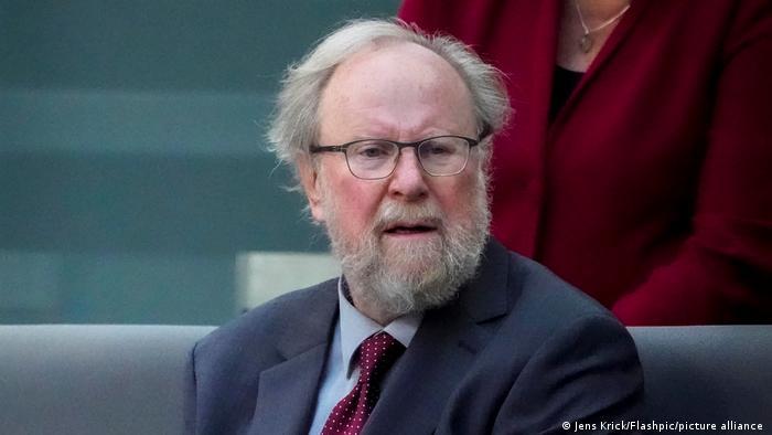 Deutschland Ex-Bundestagspräsident Wolfang Thierse