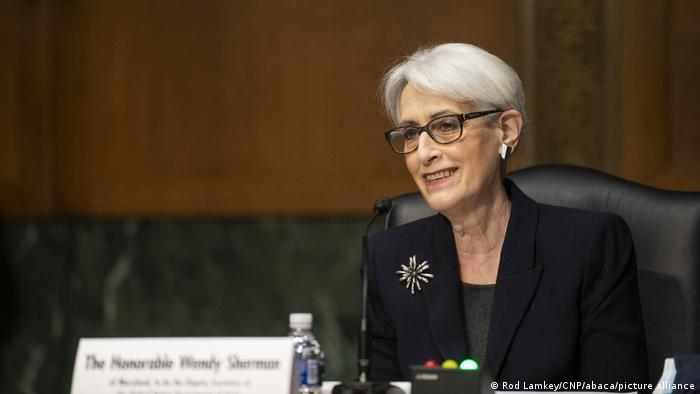Wendy Sherman during her Senate confirmation hearing in March