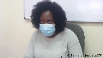 Mosambik Ana Dulce Guizado, Leiterin Save the Children Manica