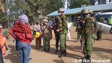 Nakuru Bi-election in Kenya --- Police questioning members of public