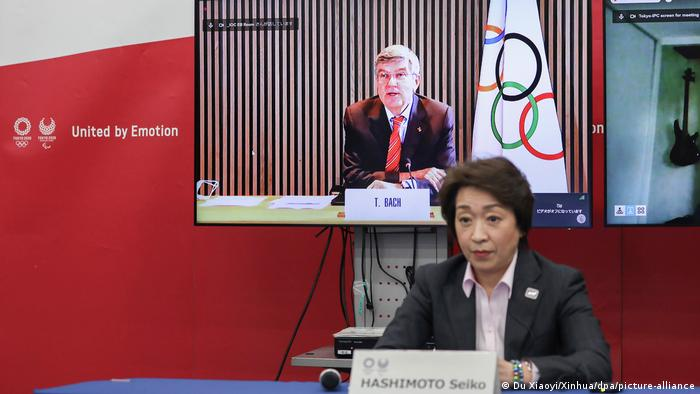 Japan Olympische Spiele 2021 Coronavirus Seiko Hashimoto