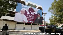 Irak Besuch von Papst Franziskus Ayatollah Ali Sistani