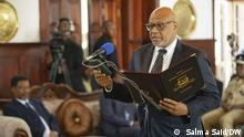 Afrika Sansibar President Hussein Ali Mwinyi Hon. Nassor Ahmed Mazrui