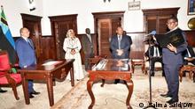 Afrika Sansibar Industrie ,- und Handel Minister Omar Said Shabaan
