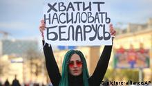 Frauenproteste in Belarus