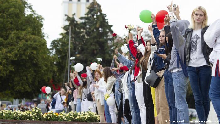 Frauenproteste in Belarus