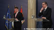 EU Serbien Bosnien Miroslav Lajcak Aleksandar Vucic