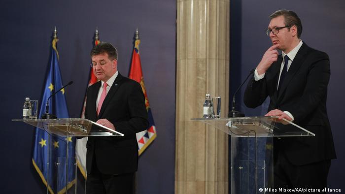Miroslav Lajčak i Aleksandar Vučić