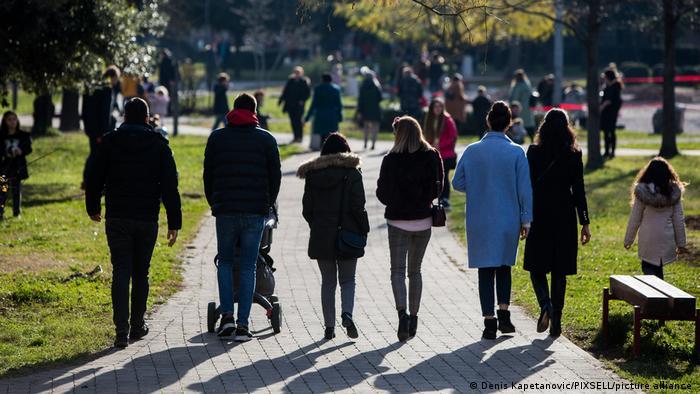 Прогулки на свежем воздухе полезны для здоровья