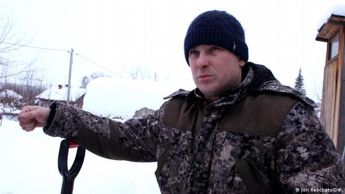 Russland schwarzer Schnee in Kissiljowsk | Witali Schestakow