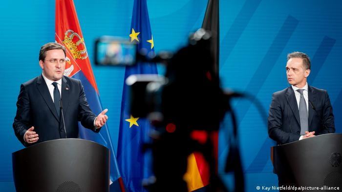 Deutschland Serbien Außenminister Heiko Maas Nikola Selakovic