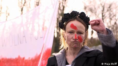 DW Kultur.21 | Anna Krenz, polnische Künstlerin und Aktivistin für Frauenrechte