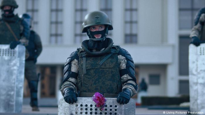 Кадр из фильма Courage Алексея Полуяна
