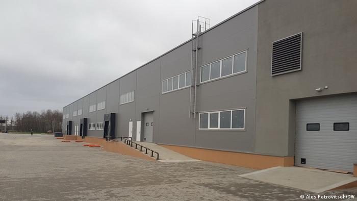 Здание аккумуляторного завода под Брестом