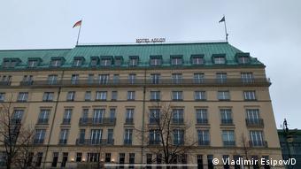 Отель Адлон в Берлине