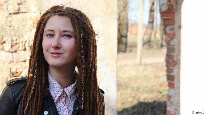 Активістка Аліна Нагорна відстоює права білоруськомовних у Білорусі