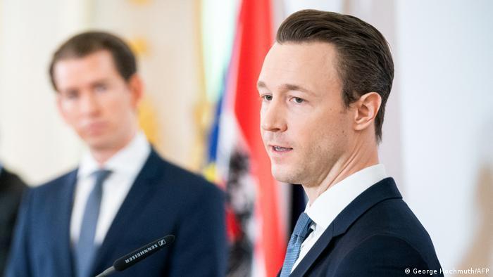 Канцлер Австрії Себастіан Курц і міністр фінансів Ґернот Блюмель, архівне фото