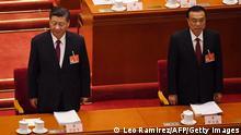 China Peking | Eröffnung Jahrestagung Volkskongress | Xi Jinping und Li Keqiang