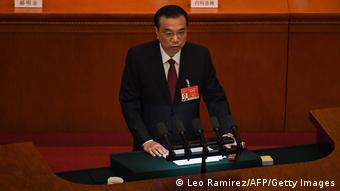 China Peking   Eröffnung Jahrestagung Volkskongress   Li Keqiang