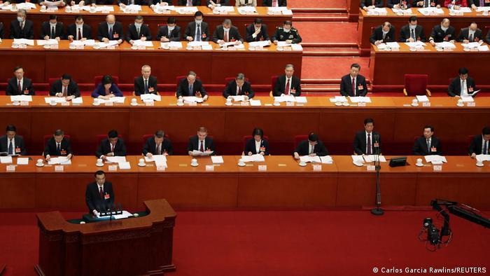 China Peking | Eröffnung Jahrestagung Volkskongress | Li Keqiang