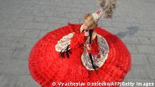 BdTD Kirgistan Traditionelle Bekleidung