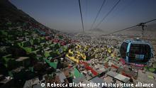 BdTD Mexiko Seilbahn im Stadtteil Cuautepec von Mexiko-Stadt