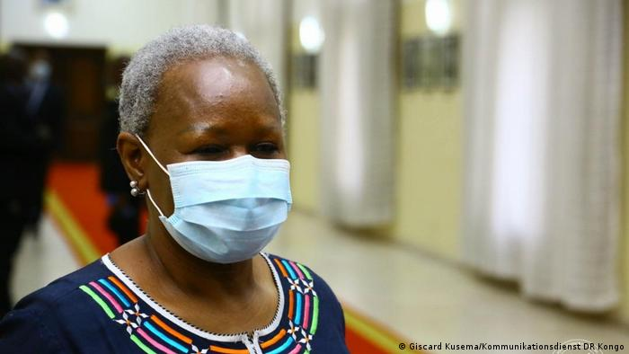 DR Kongo Treffen Bintou Keita und Félix Tshisekedi