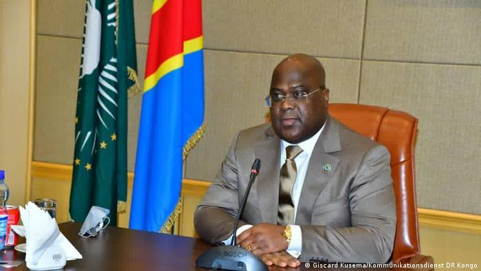 DRC presiedent Felix Tshisekedi