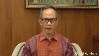 Wakil Menteri Luar Negeri RI Mahendra Siregar